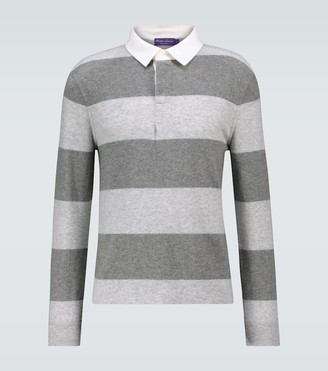 Ralph Lauren Purple Label Cashmere rugby polo sweater