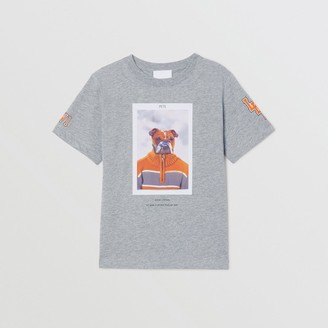 Burberry Character Print Cotton T-shirt