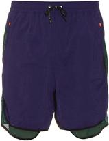 adidas Mesh-panel nylon shorts