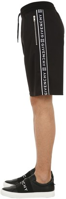Givenchy Jersey Shorts W/ Logo Side Bands