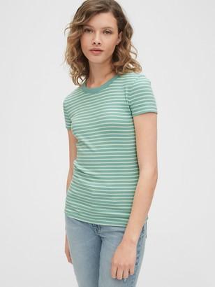Gap Ribbed Crewneck T-Shirt