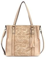 Jessica Simpson Bassie Flower Printed Shoulder Bag