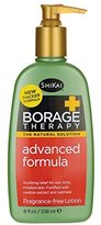 Shikai Borage Therapy - Natural Advanced Dry Skin Lotion, Contains Powdered Oatmeal, Shea Butter, Borage Oil and Rooibos Extract (Fragrance-Free, 16 Ounces)