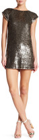 Alice + Olivia Sherry Sequin Shirt Dress