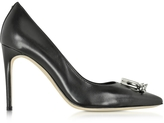 DSQUARED2 Pierce Me Black Leather Pump