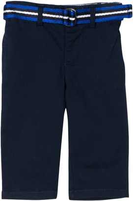 Ralph Lauren Blue Trousers With Belt