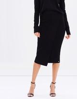 GUESS Malaika Asymmetrical Sweater Skirt