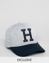 Tommy Hilfiger Varsity Baseball Cap Exclusive To Asos In Grey