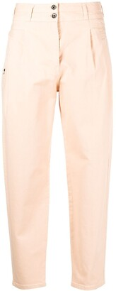 Patrizia Pepe High-Waisted Balloon Jeans