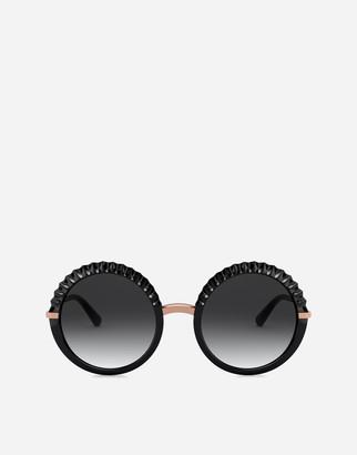 Dolce & Gabbana Plisse Sunglasses
