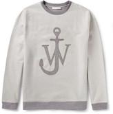 Loopback Cotton-Blend Sweatshirt