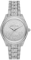 Michael Kors Women's Lauryn Pave Crystal Bracelet Watch, 38Mm
