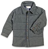 Rosie Pope® Size 12M Quilted Chambray Shirt in Blue