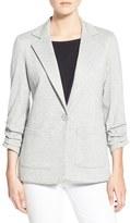 Bailey 44 Women's 'Jane' Ruched Sleeve Knit Blazer
