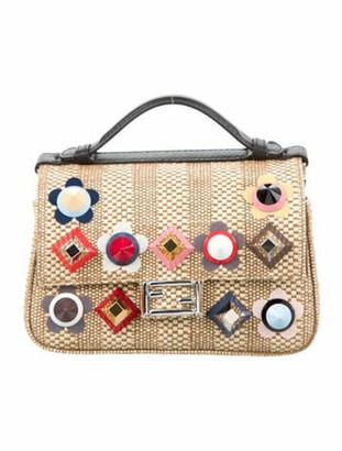 Fendi Double Micro Baguette Crossbody Bag