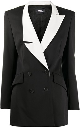Karl Lagerfeld Paris STUDIO KL double-breasted blazer