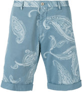 Etro paisley print chino shorts - men - Cotton/Spandex/Elastane - 48