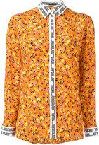 Versace floral print shirt - women - Silk - 38