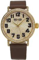 SO & CO New York Women's 5221.2 Madison Quartz Wrist Watches
