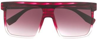 Vivienne Westwood Oversized Flat-Top Sunglasses