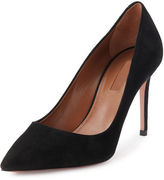 Aquazzura Simply Irresistible Suede Pump