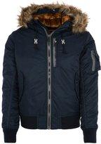 Schott Nyc Winter Jacket Navy