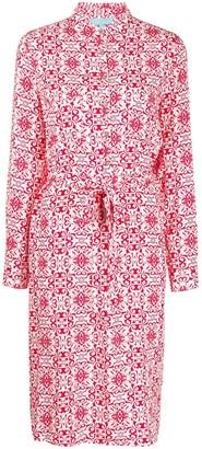 Melissa Odabash Paisley Shirt Dress