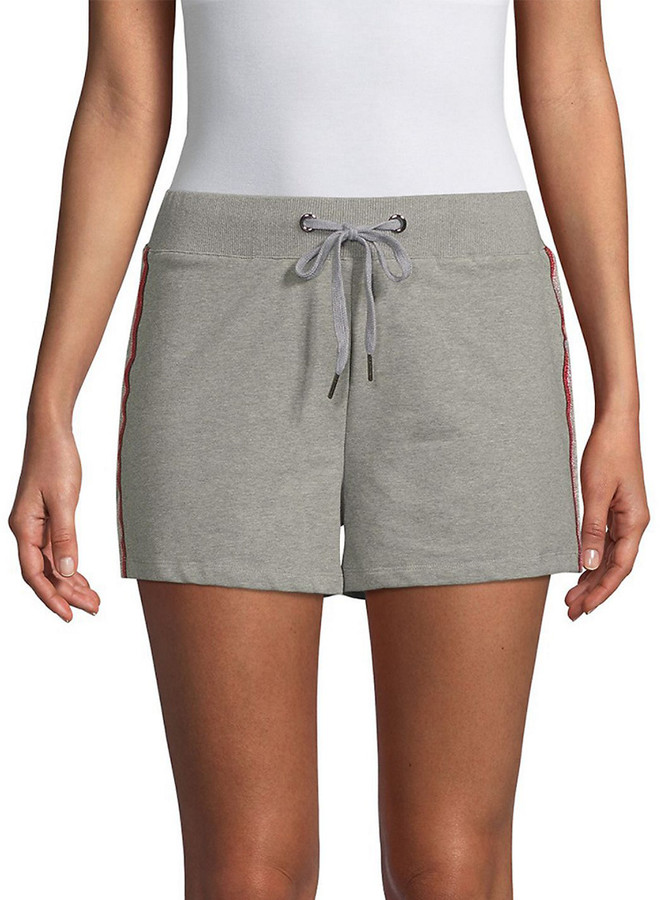 Lea & Viola Heathered Drawstring Short