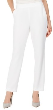 Kasper Vanilla Pull-On Pants