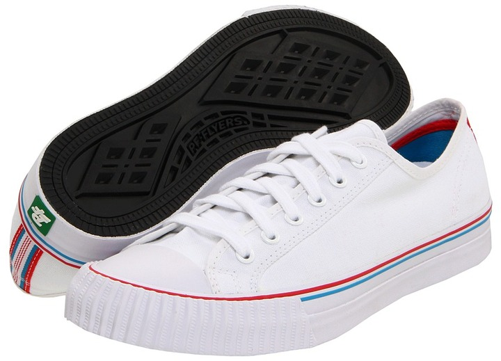 PF Flyers Center Lo - Tailored (White Canvas) - Footwear