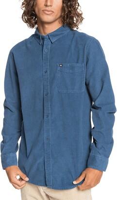 Quiksilver Smoke Trail Button-Up Corduroy Shirt