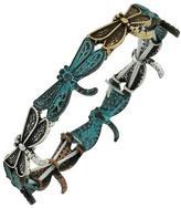 Bohemia Tri-Tone Dragonfly Bracelet