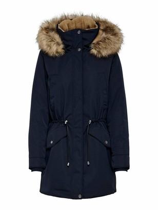 Only Women's ONLALINA Fur Parka CC OTW