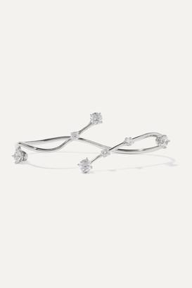 Panconesi Constellation Silver Crystal Hand Piece - one size