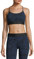 Koral Activewear Sweeper Versatility Camouflage Jacquard Sports Bra