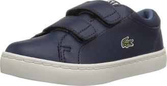 Lacoste Kid's Straightset 119 2 S Hook and Loop Sneaker