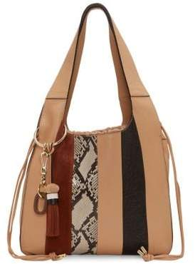 Vince Camuto Suni Leather Shoulder Bag