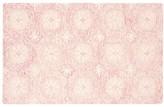 Pottery Barn Kids Eva Floral Medallion Rug, 3x5 Feet, Pink