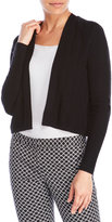 Qi Drape Front Cashmere Cardigan
