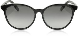 Saint Laurent SL204 K Acetate Oval Frame Women Sunglasses