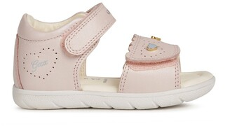 Geox Kids Alul Leather Sandals