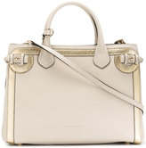 Burberry House Check shoulder bag - women - Cotton/Calf Leather/metal - One Size