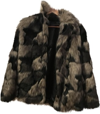 Trussardi Multicolour Faux fur Jacket for Women