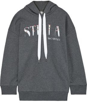Stella McCartney Printed French Cotton-terry Hoodie