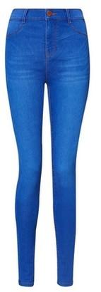 Dorothy Perkins Womens **Tall Bright Blue 'Frankie' Jeans, Blue