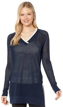 Smartwool Everyday Exploration Tunic Sweater (Deep Navy) Women's Sweater