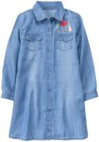 Crazy 8 Patch Jean Shirt Dress