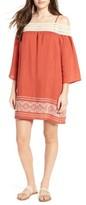 Trixxi Women's Cold Shoulder Shift Dress
