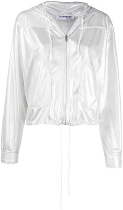 Courreges lightweight zipped-up jacket