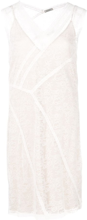 Nina Ricci Fitted Panel Dress